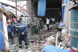 Hải Phòng: Nổ nghiêm trọng tại xưởng thu gom phế liệu