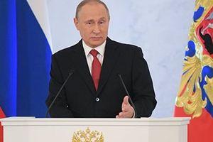 Tổng thống Nga Putin đọc Thông điệp liên bang cuối cùng trong nhiệm kỳ