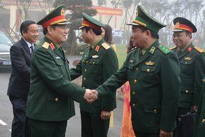 Đại tướng Ngô Xuân Lịch làm việc với Bộ CHQS, Bộ chỉ huy BĐBP tỉnh Hà Tĩnh