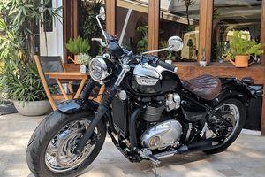 Triumph Bonneville Speedmaster chốt giá 390 triệu đồng