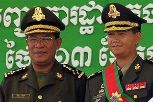 Con cả Thủ tướng Hun Sen lại được thăng chức