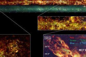 Công bố bản đồ chi tiết mới về thiên hà Milky Way