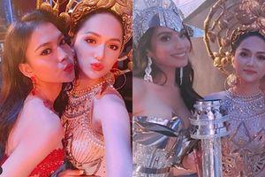 Clip: Trang phục dân tộc quá nổi bật, Hương Giang chiếm vị trí trung tâm