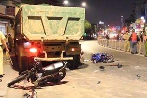 Thông tin thêm vụ xe ben gây tai nạn kinh hoàng