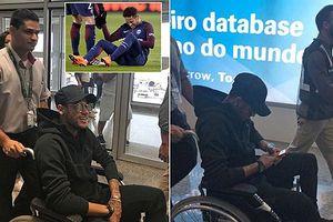 Lên bàn mổ, ngôi sao Neymar nguy cơ nghỉ hết mùa giải