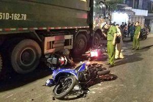 TP HCM: Tài xế gây tai nạn liên hoàn trình diện công an