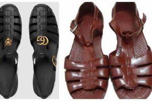 Sandal Gucci có giá 11 triệu đồng giống hệt đôi dép rọ vài chục nghìn của Việt Nam