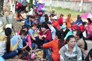 Vụ hàng nghìn công nhân bị 'xù' lương ở Đồng Nai: Mỏi mòn chờ xử lý