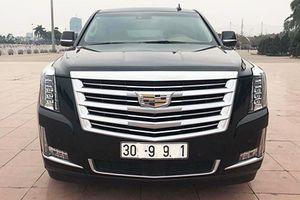 Xe sang Cadillac Escalade 'chạy lướt' hơn 7 tỷ tại Hà Nội