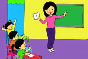 Khi cô giáo tươi cười