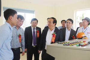 Khánh thành nhà máy nước sạch xã Phú Sơn, huyện Ba Vì