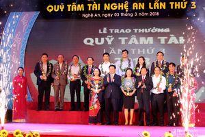 Quỹ Tâm Tài Nghệ An vinh danh 84 tập thể, cá nhân tiêu biểu