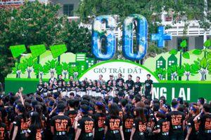 3.000 người tham gia lễ phát động Giờ Trái đất 2018