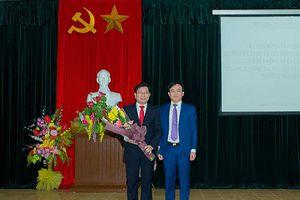 Công bố Quyết định bổ nhiệm lãnh đạo Phân hiệu trường Đại học Tài nguyên và Môi trường Hà Nội tại Thanh Hóa