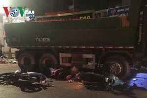 Tài xế xe ben tông hàng loạt xe máy: Thêm 1 nạn nhân nguy kịch
