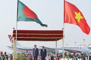 Chủ tịch nước Trần Đại Quang và Phu nhân thăm Bangladesh