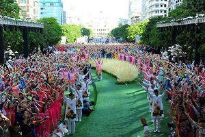 Hơn 3.000 người đồng diễn áo dài tại TPHCM