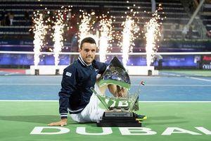 Dubai Championships 2018: Bautista Agut giành danh hiệu lớn nhất cuộc đời