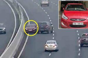 Phóng xe ngược chiều kiểu 'tự sát' trên cao tốc: Nhiều người chặn đầu nhắc nhở nhưng tài xế vẫn cố tình đi