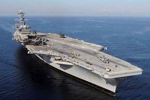 Tàu sân bay Mỹ USS Carl Vinson từng hải táng thi thể trùm khủng bố Osama bin Laden