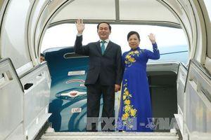 Chủ tịch nước Trần Đại Quang thăm cấp Nhà nước Bangladesh