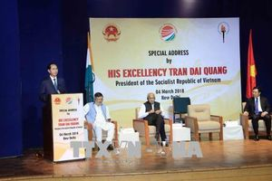 Chủ tịch nước Trần Đại Quang: Không gian phát triển mới Ấn Độ Dương - châu Á - Thái Bình Dương