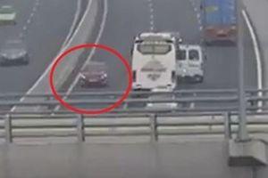 Lý do nữ tài xế đi ngược chiều trên cao tốc không gây ra tai nạn
