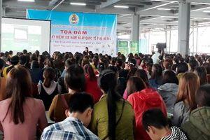 600 nữ công tham gia buổi tọa đàm 'Sức khỏe sinh sản và hạnh phúc gia đình'