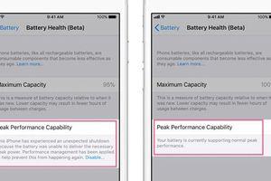iOS 11.3 giúp quản lý hiệu suất CPU