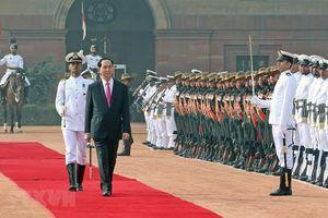 Chủ tịch Trần Đại Quang dự khai mạc Không gian Văn hóa Việt Nam tại Ấn Độ