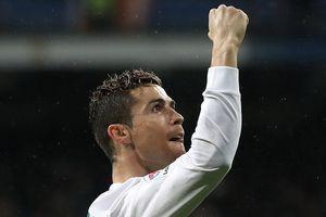 Ronaldo ghi bàn thắng thứ 300, Real thắng thuyết phục Getafe