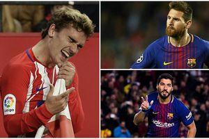 Đội hình kết hợp 'công thủ toàn diện' của Barca và Atletico Madrid