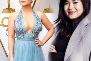 Người đẹp gốc Việt khoe khéo vòng một trong lần đầu đến Oscar
