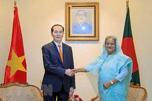 Việt Nam - Bangladesh tiếp tục đẩy mạnh hợp tác trên các lĩnh vực