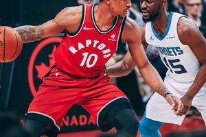 NBA 2017-18, Charlotte 98-103 Toronto: Kịch tính hiệp 4 chưa đủ để tạo bất ngờ