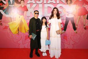 Sao Việt mang cả gia đình lên thảm đỏ Asian Kids Fashion Week