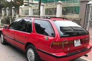 Ô tô Honda cũ nhập từ Mỹ mang biển Hà Nội 'sang chảnh' rao bán chỉ 100 triệu đồng 'gây sốt'