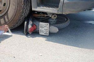 Xe tải va chạm với xe máy khiến hai anh em tử vong