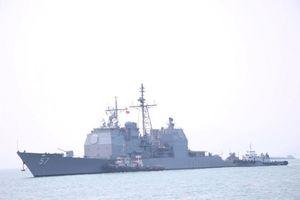 Tàu sân bay Mỹ USS Carl Vinson vào cảng Tiên Sa
