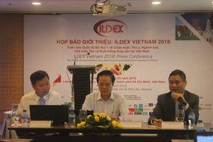 Doanh nghiệp của 30 nước tham gia ILDEX Vietnam 2018