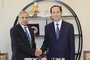Chủ tịch nước Trần Đại Quang kết thúc tốt đẹp chuyến thăm cấp Nhà nước tới Bangladesh