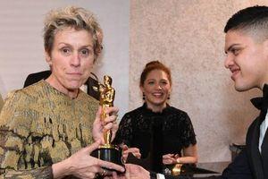 Nữ diễn viên chính xuất sắc nhất Oscar bị trộm tượng vàng ngay khi vừa thắng giải