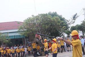 Lính tàu sân bay Mỹ hào hứng với các trò chơi dân gian Việt Nam