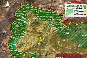 Người Kurd Syria vỡ trận, liên quân Thổ Nhĩ Kỳ chiếm nhiều địa bàn ở Afrin
