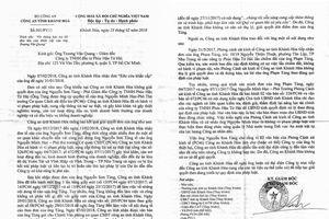Dự án 'chết yểu' vì văn bản xác minh của cơ quan điều tra: Ra 'văn bản tham mưu', Công an Khánh Hòa có nhiệt tình quá mức?