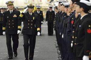 Nữ chỉ huy đầu tiên của hạm đội tàu chiến Nhật Bản