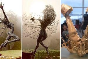 Lặng ngắm những tác phẩm điêu khắc tuyệt diệu thách thức mọi giới hạn