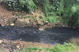 Bảo Yên (Lào Cai) nước suối Ràng nhiều lần chuyển màu đen
