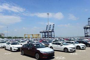 Cận cảnh dàn xe Honda thuế 0% đầu tiên cập cảng Thành phố Hồ Chí Minh