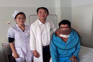 Phẫu thuật thành công ung thư lưỡi bằng phương pháp mới
